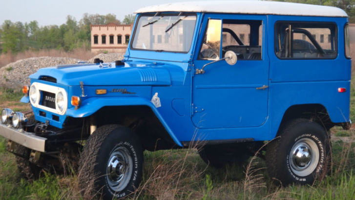 Ebay Find: Well Restored Toyota Land Cruiser FJ 40 [Photo Gallery]