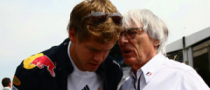 Ecclestone Fancies Father-In-Law Role for Vettel