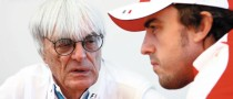 Ecclestone Reveals Passion for Ferrari