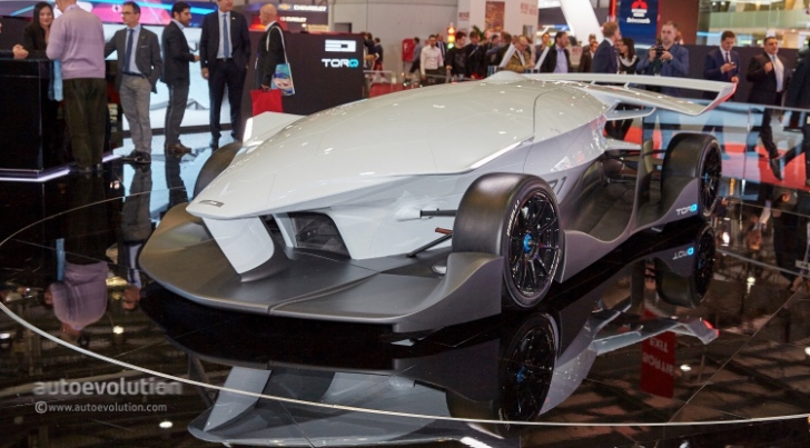 ED Torq, the World's First Driverless Race Car Shows Up in Geneva ...