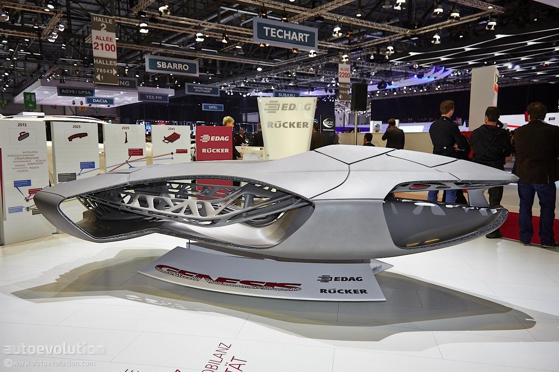 edag genesis is a 3d printed ninja turtle car autoevolution. Black Bedroom Furniture Sets. Home Design Ideas