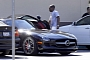 Eddie Murphy Drives a Black Mercedes SLS AMG
