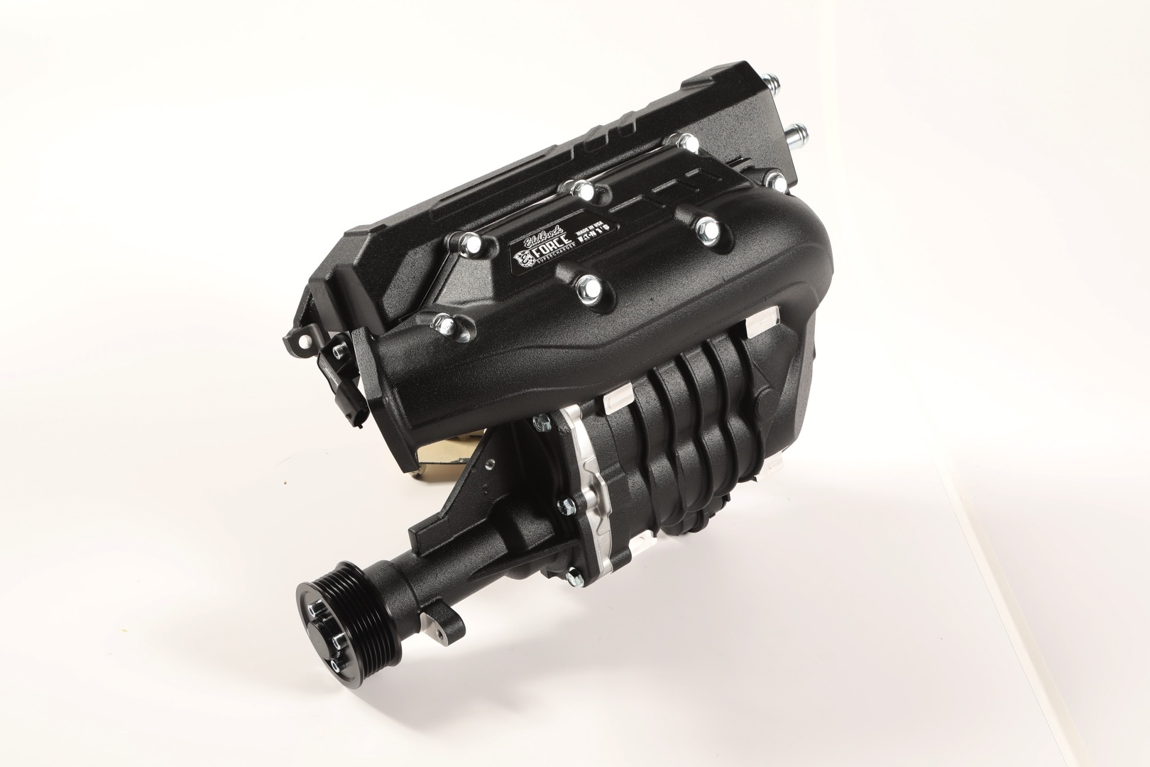 edelbrock mazda mx-5 miata e-force supercharger kit fits under the