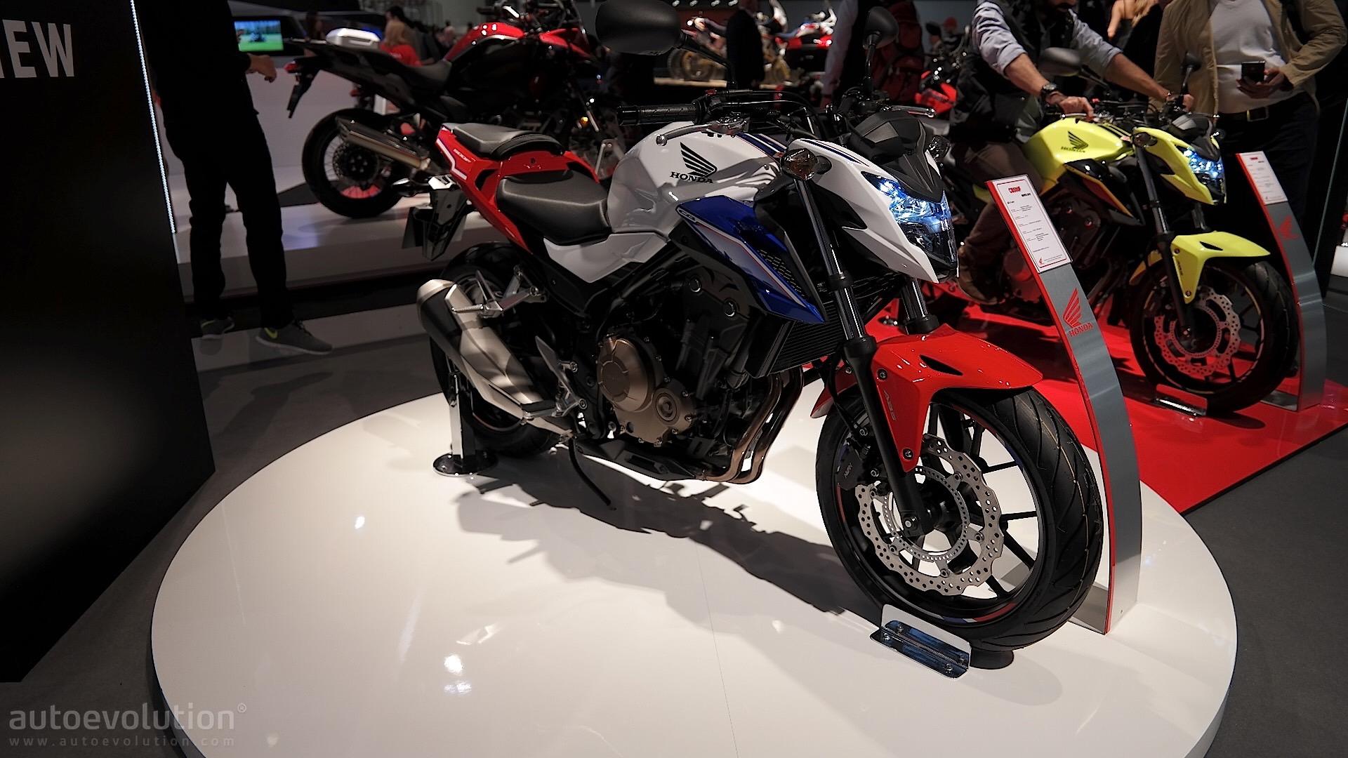 EICMA 2016 Honda CB500F Introduces A Short List Of Upgrades