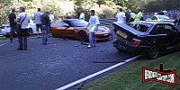 eight-car Nurburgring crash