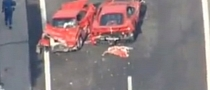 Eight Ferraris Crashed in Japan [Video]