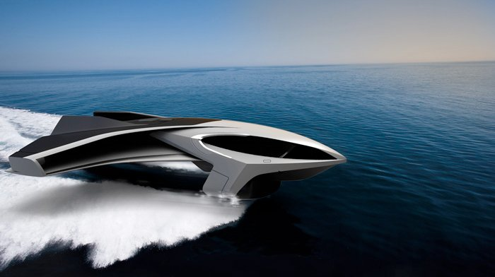 EkranoYacht, a Flying Yacht Concept for 2025 - autoevolution