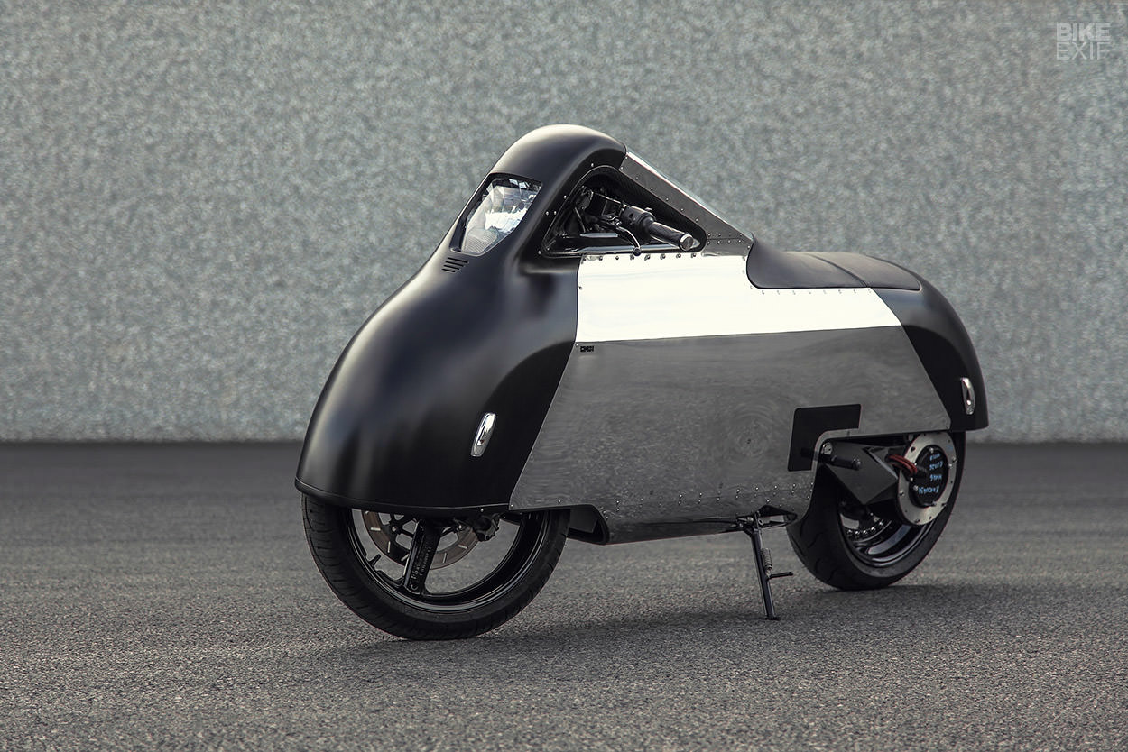 Porsche Custom Motorcycle: Electric Custom Motorcycle Gets Inspiration From IPhone