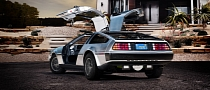 Electric DMC DeLorean Coming in 2013