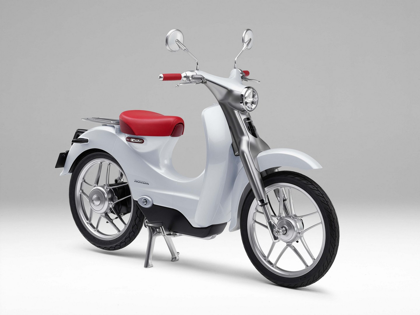 electric honda ev cub arrives in 2018 autoevolution. Black Bedroom Furniture Sets. Home Design Ideas