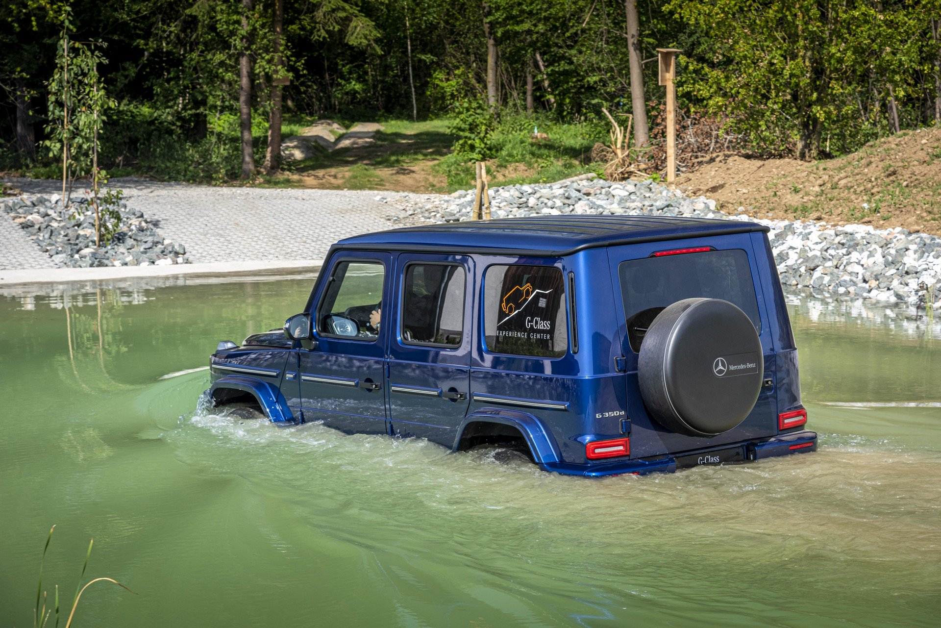 Mercedes-Benz G-Class Is Getting An Electric Variant