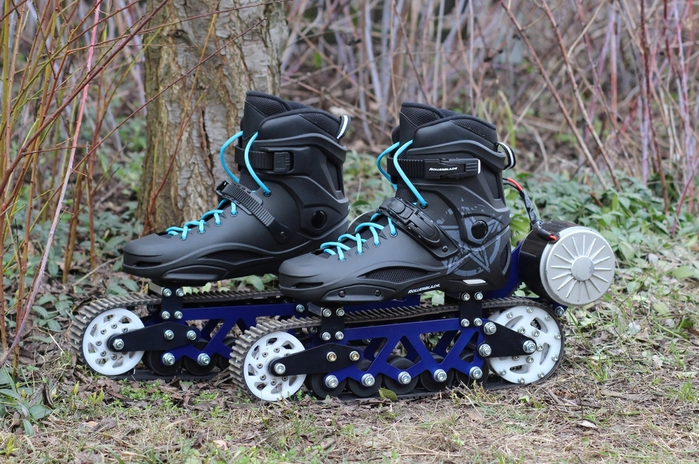 Electric Off Road Rollerblades Look like a Ton of Fun