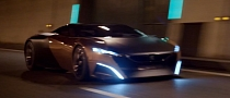 Elements Combine into Peugeot Onyx Concept [Video]