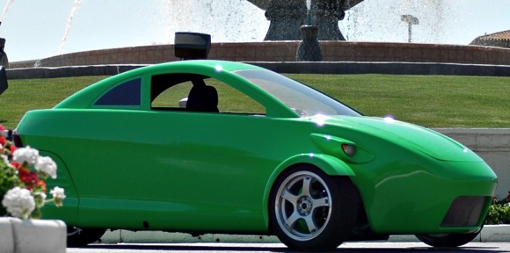 Elio Motors Three Wheeler