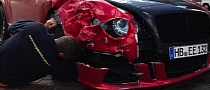 Eljero Elia Crashes His Mansory Bentley Continental GT V8