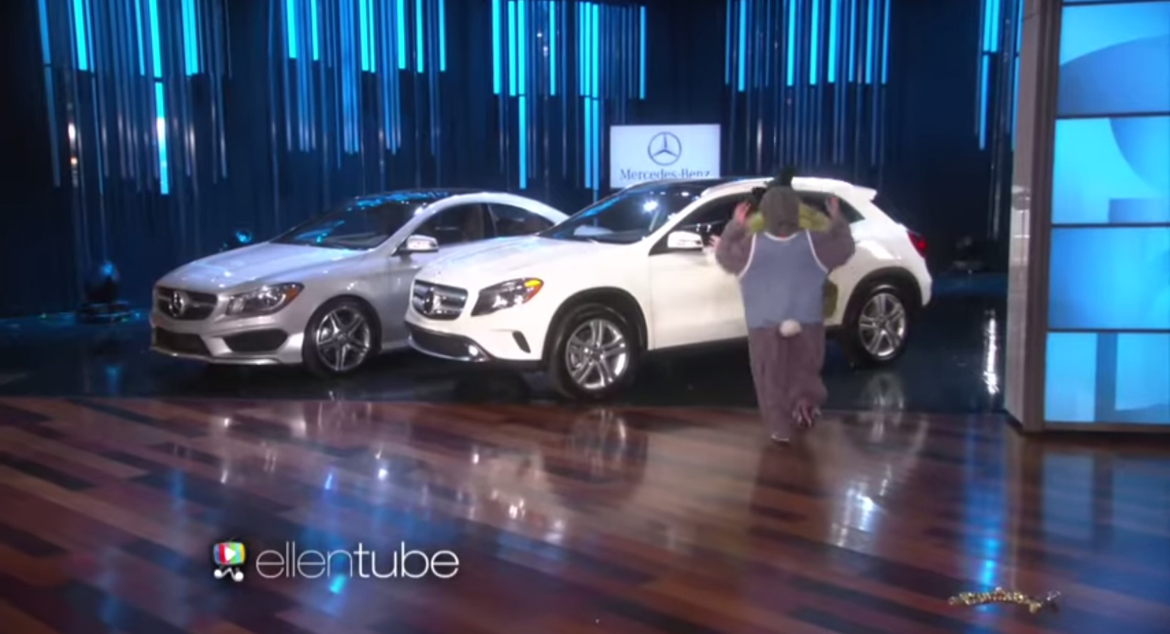 Ellen DeGeneres Celebrated Her Birthday Giving Away Two Mercedes - Ellen degeneres show car giveaway