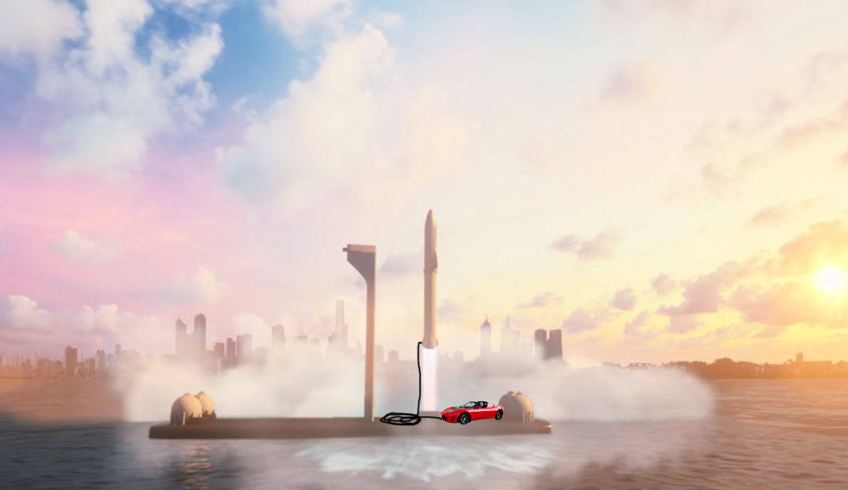 Musk to launch a Tesla into space