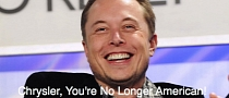 Elon Musk Ridicules Chrysler after the Latter Tries to Prove It Beat Tesla in Repaying Loans