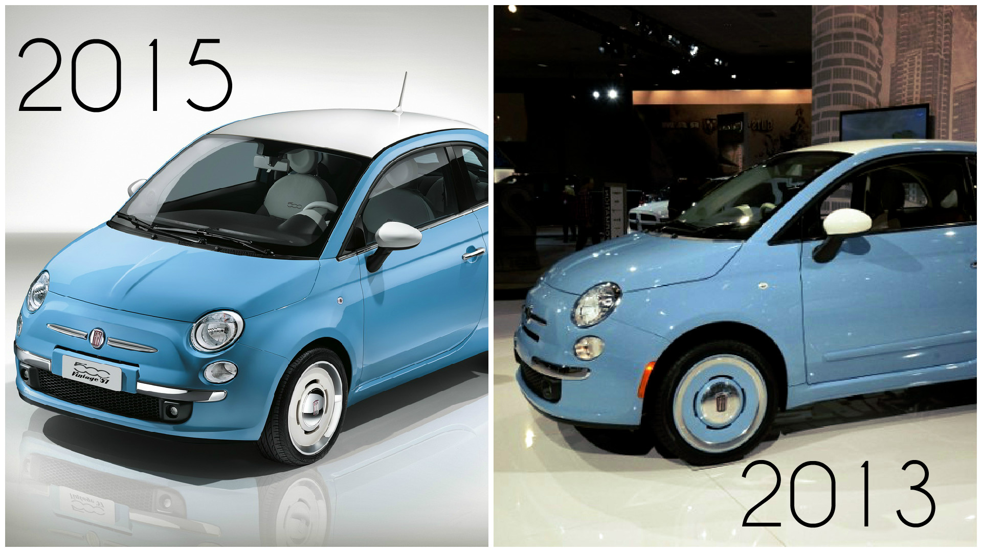 embarrassing new fiat 500 vintage 57 edition is actually