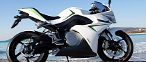 Energica Electric Bike Shows Teeth at Brammo Empulse