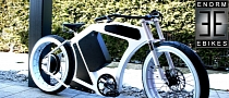 Enorm eBike V3 Bullet: Electric Bikes Design Takes on the Classic Machines