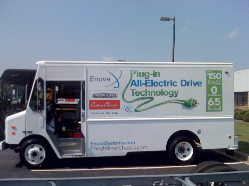 Enova To Supply All Electric Vans The US
