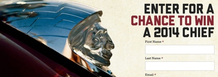 Enter to Win a 2014 Indian Chief Motorcycle