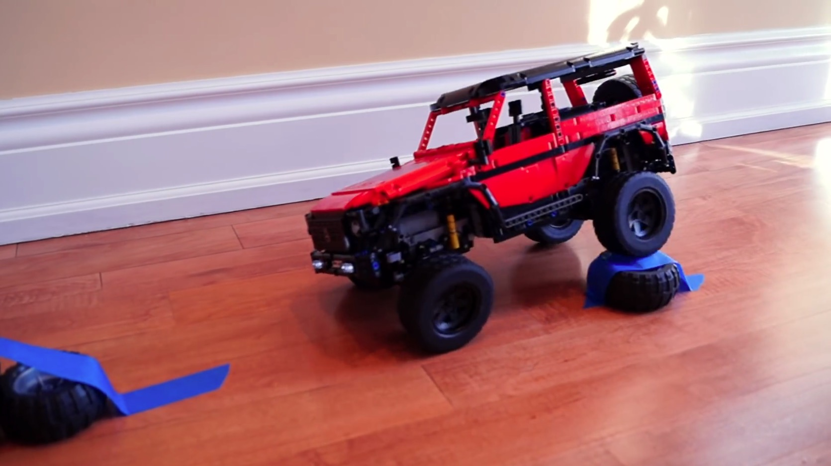 Enthusiast Builds An Rc Mercedes Benz G Class Lego Version