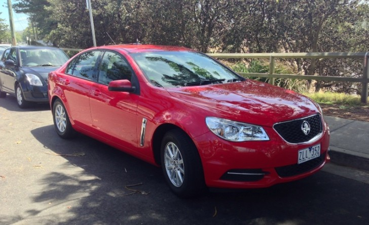 Entry-Level Holden VF Commodore Spotted