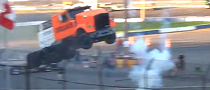 Epic Semi Truck Jump Is a Win! [Video]