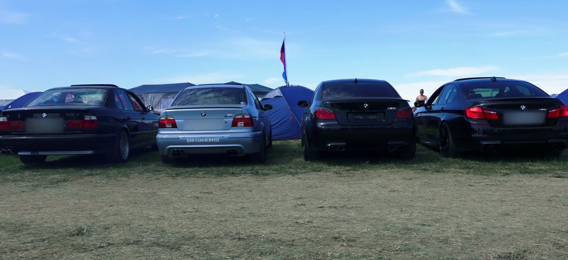 Epic Sound Battle Four Generations Of Bmw M5s Going At It Autoevolution