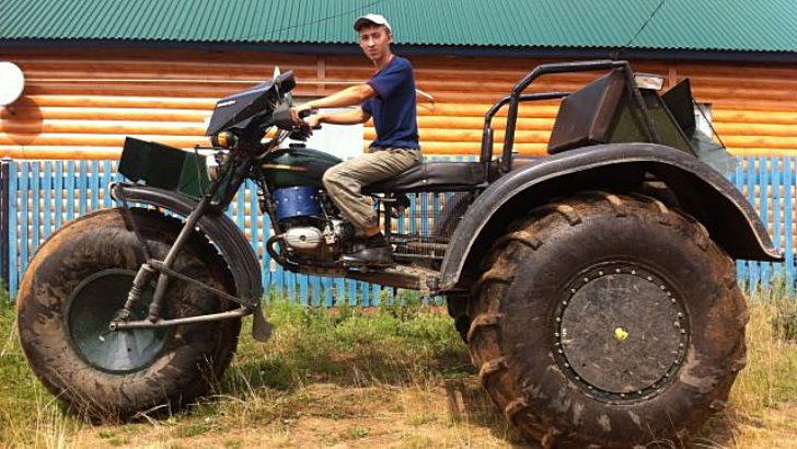 Epic Ural Trike Is Truly Unstoppable Autoevolution