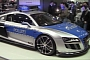 Essen 2011: ABT Audi R8 GT-R Police Car [Live Video]