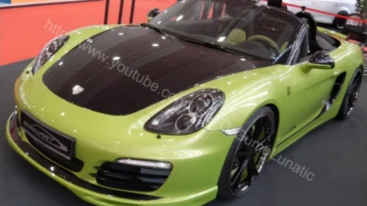 Essen 2012: SpeedArt SP81-R (981 Boxster S) [Video]