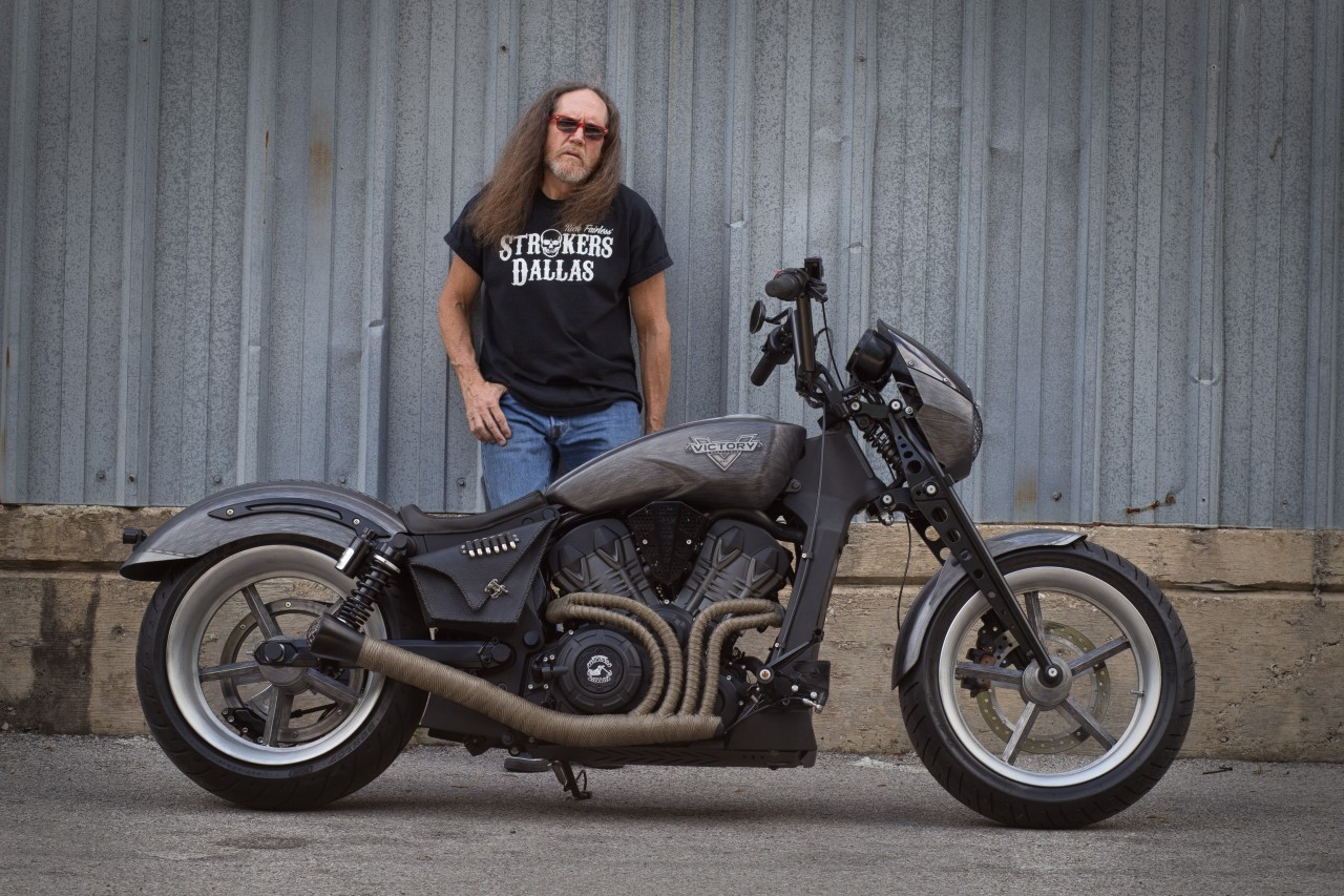 Motorcycle For Sale Dallas >> Ethel Is One Mean Victory Octane Custom Bike - autoevolution