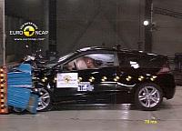 Honda CR-Z crash test
