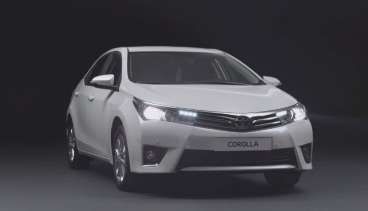 Euro-spec 2014 Toyota Corolla Makes Video Debut [Video]