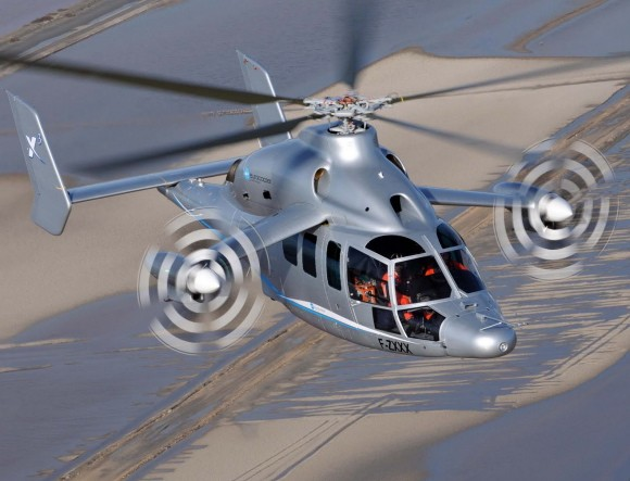 Eurocopter X3 Preparing To Break Helicopter Speed World Record