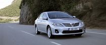 Toyota Corolla Sedan Receives Mild Facelift