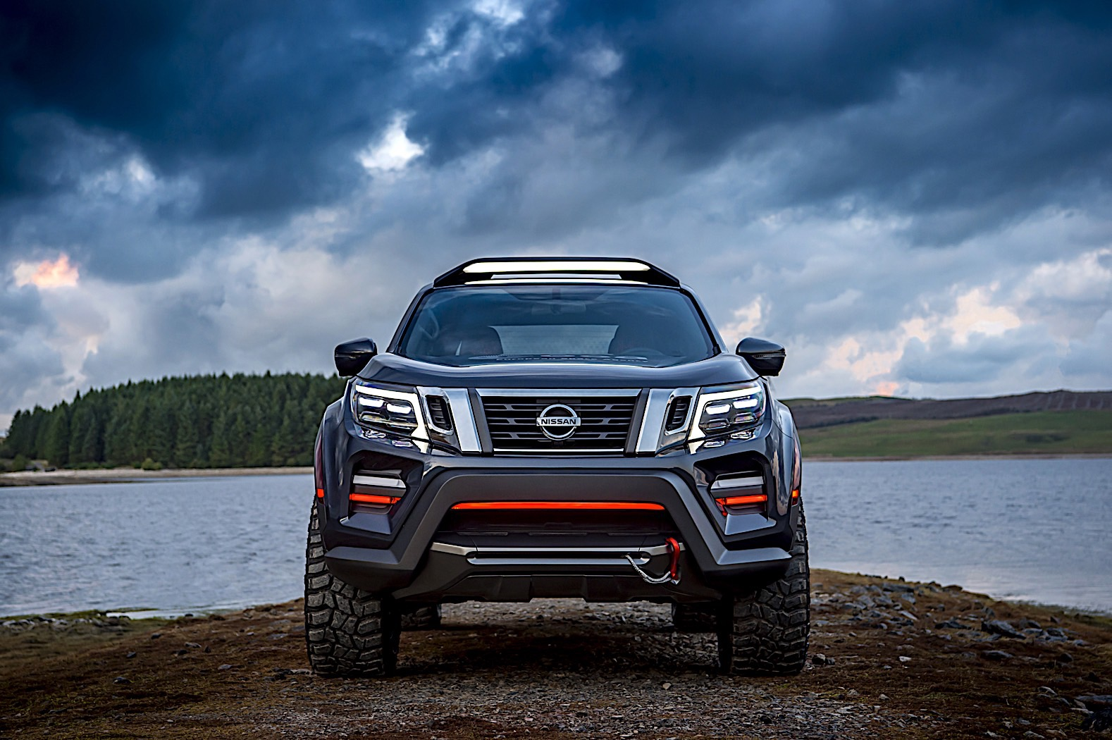 Nissan's rugged truck/trailer concept tows high-powered telescope in search of dark skies