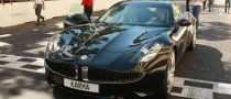 European-spec Fisker Karma Put Through Its Paces at Monaco GP