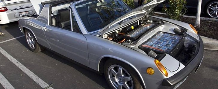 Ev Converted Porsche 914 Uses Household Hair Dryers As