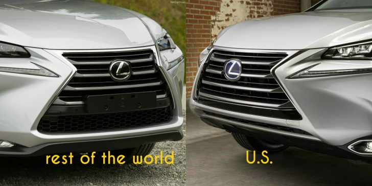 Ever Wondered Why the US Lexus NX Has a Different Bumper ...