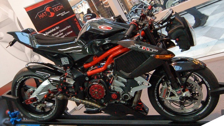 Evotech Supercharged Benelli TNT Tornado 1130 [Photo Gallery]