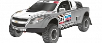 EVR to Tackle 2014 Dakar with Corvette-powered Pickup Trucks