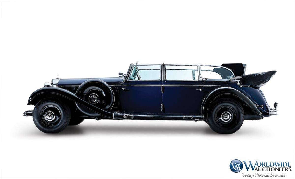 Ex adolf hitler 1939 mercedes benz 770k grosser heads to for Mercedes benz 770 for sale