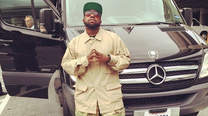 Ex Outkast Big Boi Poses Next To A Mercedes Sprinter
