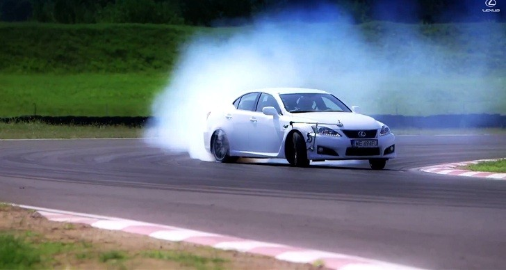 Ex Stig Takes the Lexus IS F on the Track [Video]