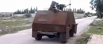 Excellent Play Station-Controlled Tank Courtesy of Some Syrian Rebels [Video]