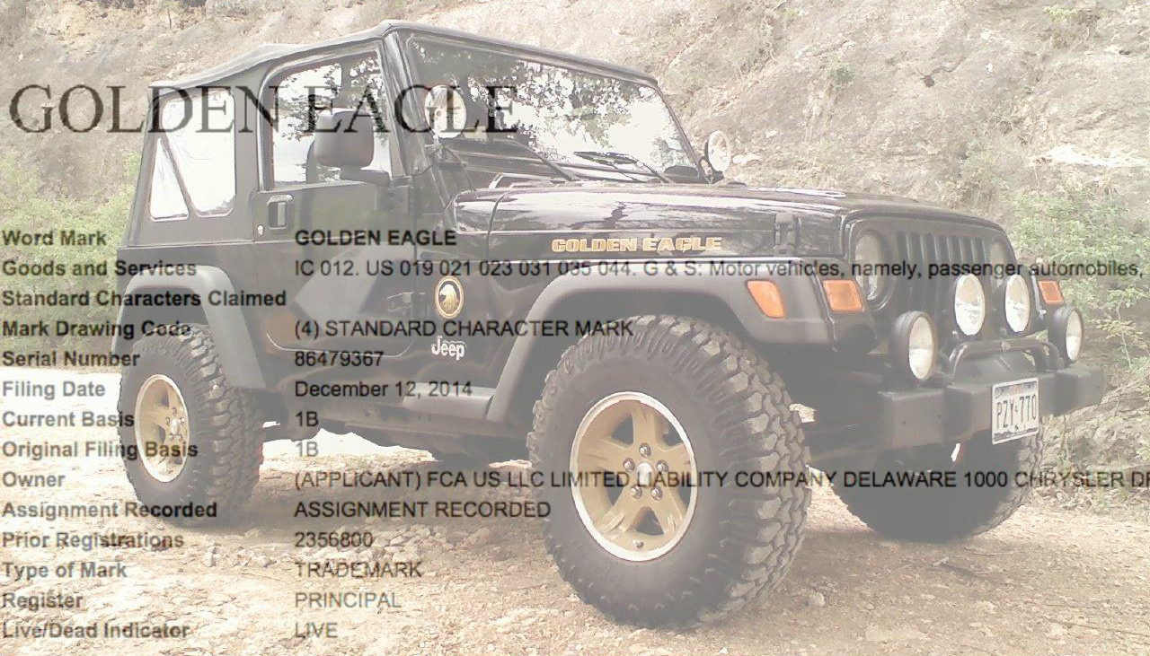 Exclusive Jeep Wrangler Golden Eagle 75th Anniversary Edition In